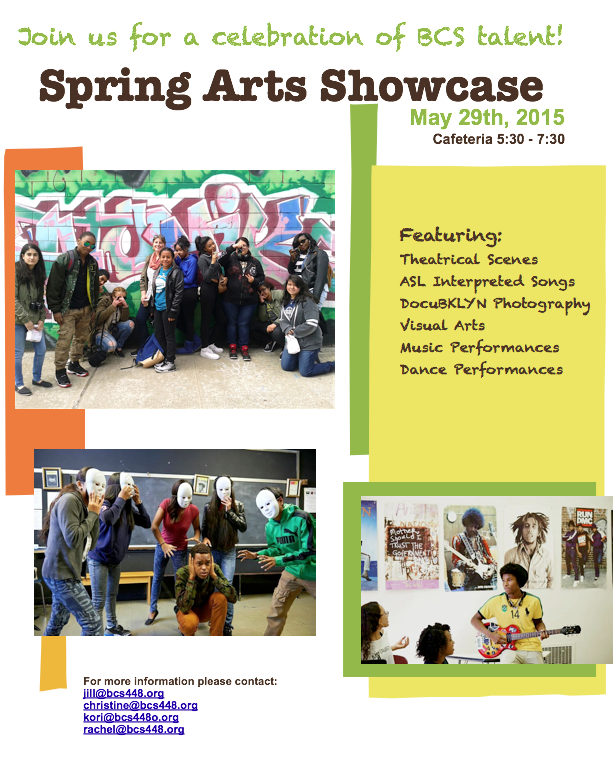 Spring Arts Showcase