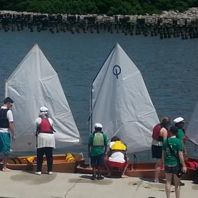 BCS Brooklyn Boatworks Sails Their Boat!