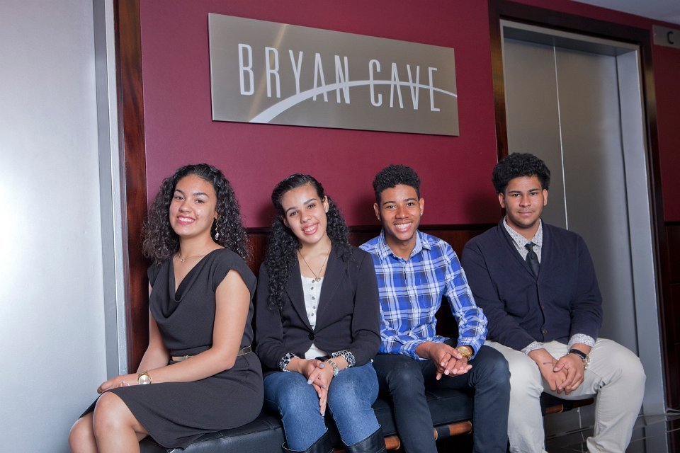 Bryan Cave LLP Law Firm awards scholarships to BCS students