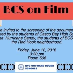 Climate Change Film Screenings June 12th 3:30pm