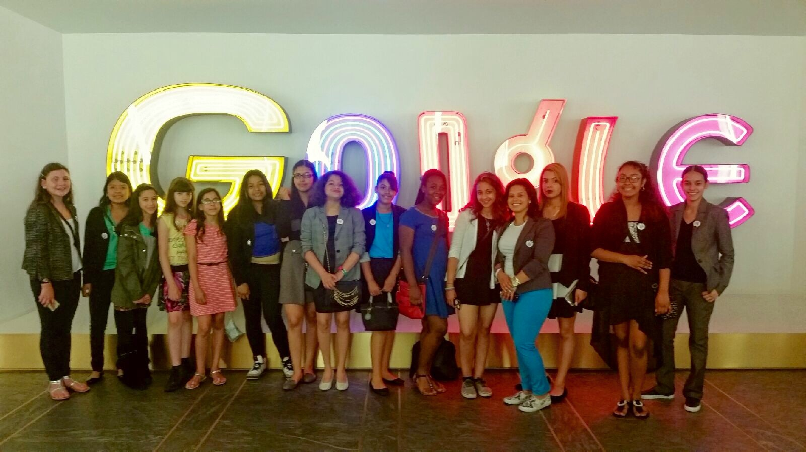 The Global Voices Club visits Google