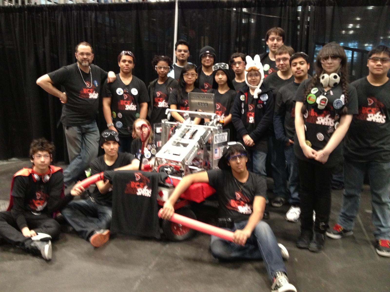 11/6-7 – BCS Robosharks at the B&N Mini Maker Faire!