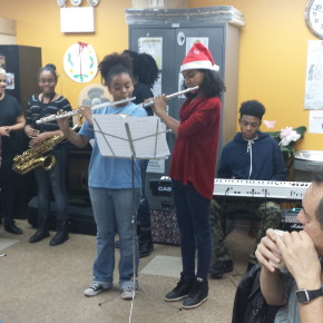 12/9 – BCS Band Performs and Does Service at Eileen Dugan Senior Center