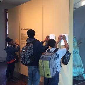 8th grade fieldwork at Ellis Island