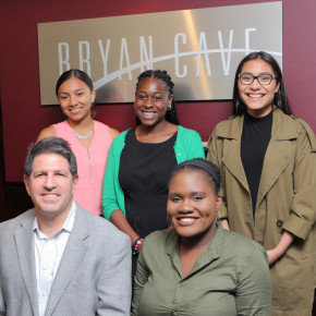 International law firm Bryan Cave LLP donates $20,000 in scholarships to BCS students!
