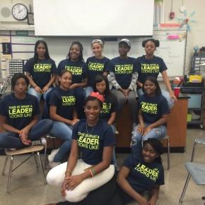 BCS juniors participate in Sadie Nash Leadership Project!