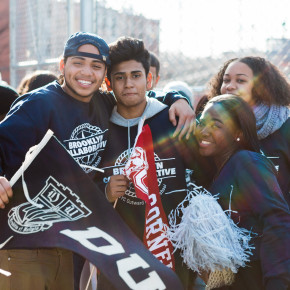 12/9 – Brooklyn Collaborative is 100% College Bound!  What an amazing College March!