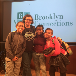 5/30 – 6th Graders Present at the Public Library