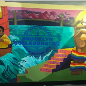 4/28 – Our Beautiful 4th Floor Mural Debuts!