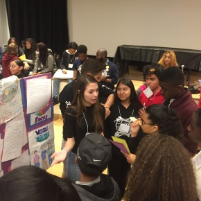 5/26 – Grade 8 Presents at NYU Social Justice Expo!