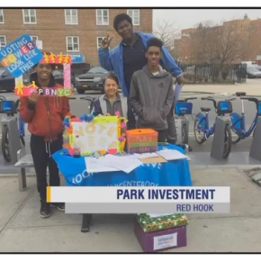 Former BCS students speak up for Red Hook parks!