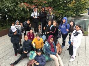 Black and White Full Group Shot High Line 10.26 ELA ET