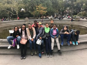 Washington Square Park Full Group Shot 10.26 ELA ET.
