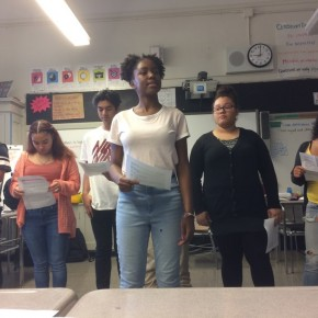 11/3 – Readers Theater Performance at Family Breakfast!