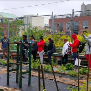 5/17 – UG Science ET a success, despite rain!