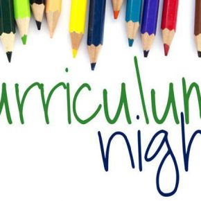 9/26 – Curriculum Night