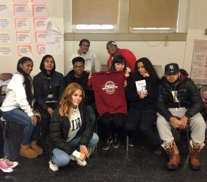 students with author