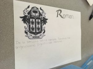 students learning about last names