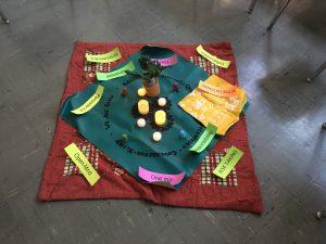 circle centerpiece