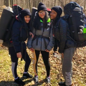 4/16-18 – Crew 9 persists through camping – so proud of our Grade 9 campers!