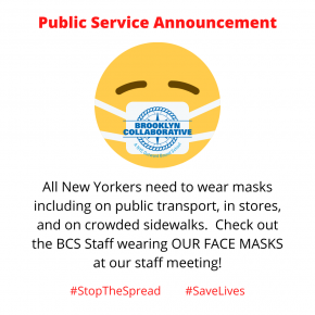 Public Service Announcement from the BCS Staff – Wear a Mask!