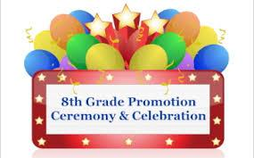 6/23 – Grade 8 Virtual Promotion Ceremony