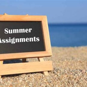 Summer Opportunities, Summer Math and Reading Assignments