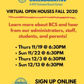 Fall/Winter Virtual Open Houses for Prospective Applicants
