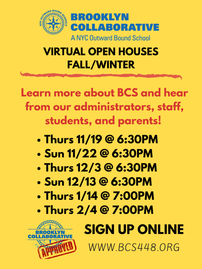 Dates of open houses
