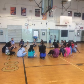 6/12 – Families and students have fun and reflect at our orientation