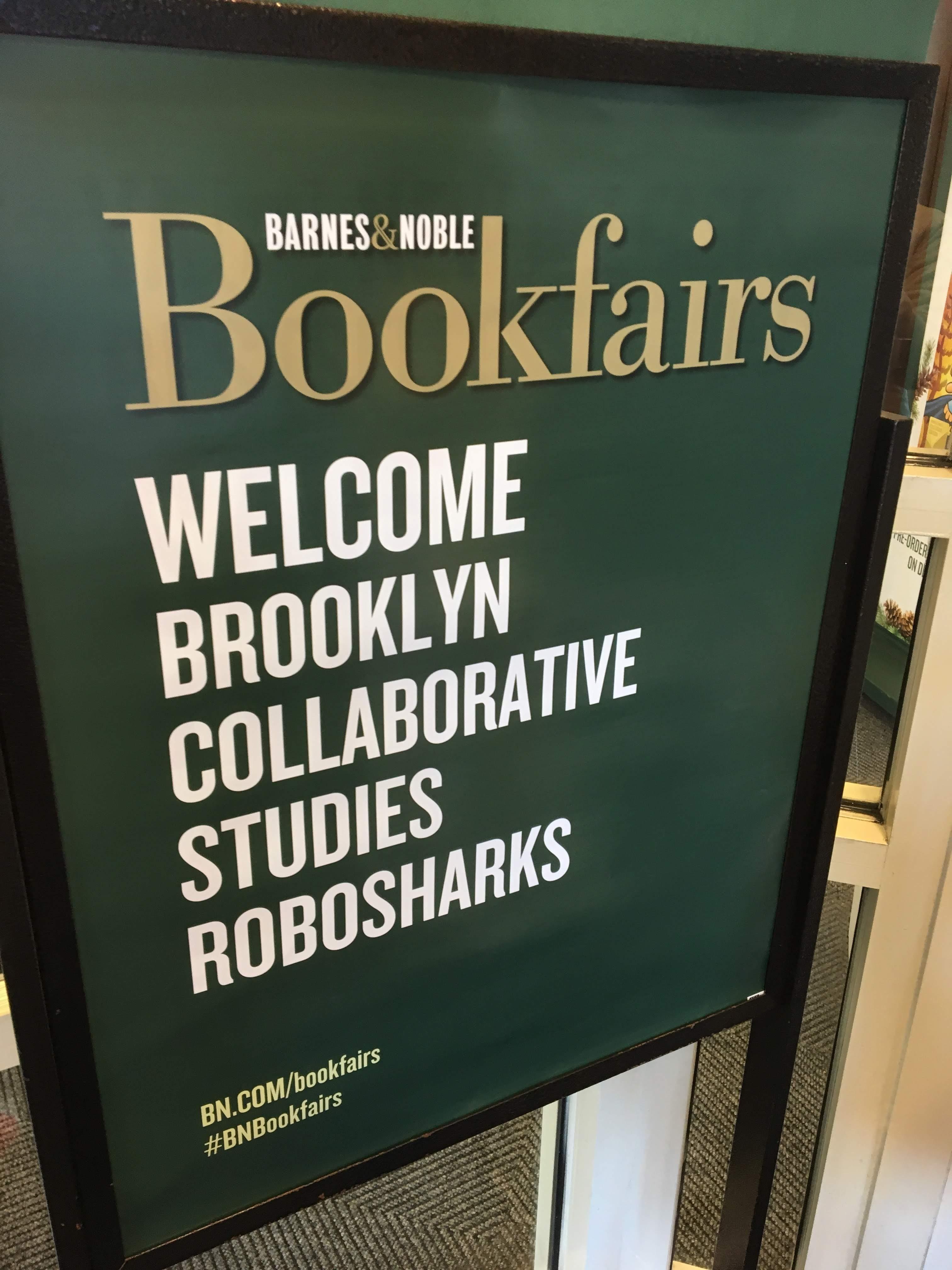 Barnes & Noble sign